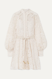 Zimmermann Amari guipure lace mini dress
