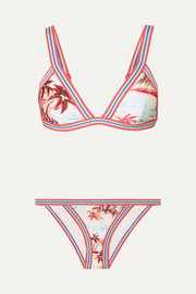 Zimmermann Eyes on Summer printed triangle bikini