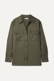 Equipment Videlle linen shirt