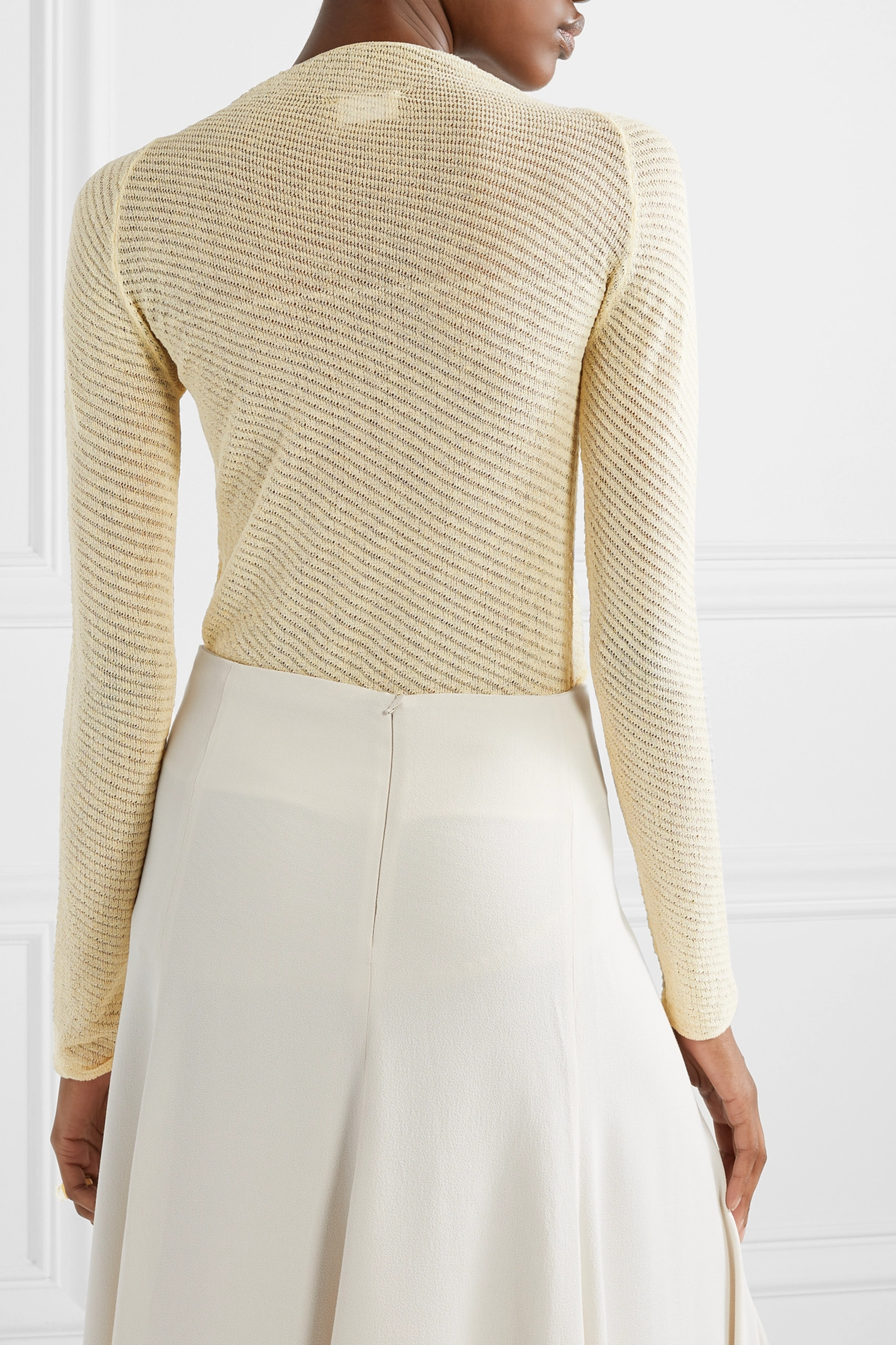 By Malene Birger Mimosa knitted sweater