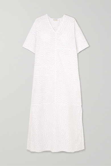 Parma Cotton Blend Maxi Dress by By Malene Birger