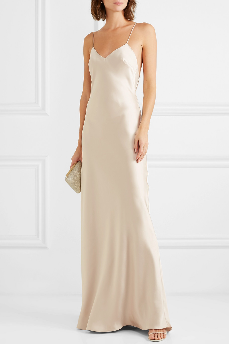 Halfpenny London Freida satin gown