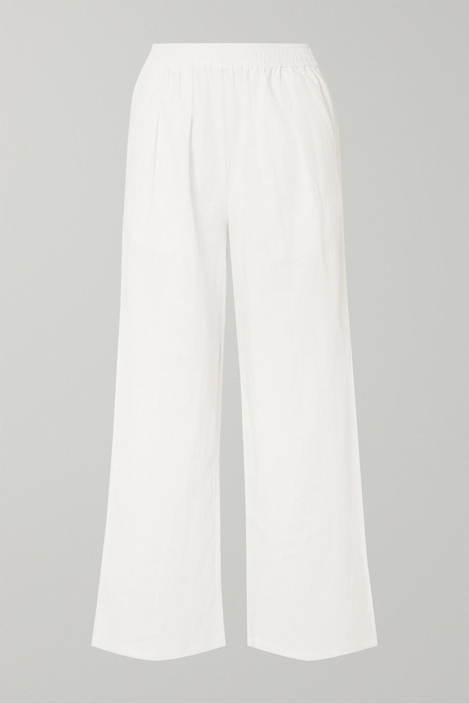 L.F.Markey Ryan linen wide-leg pants