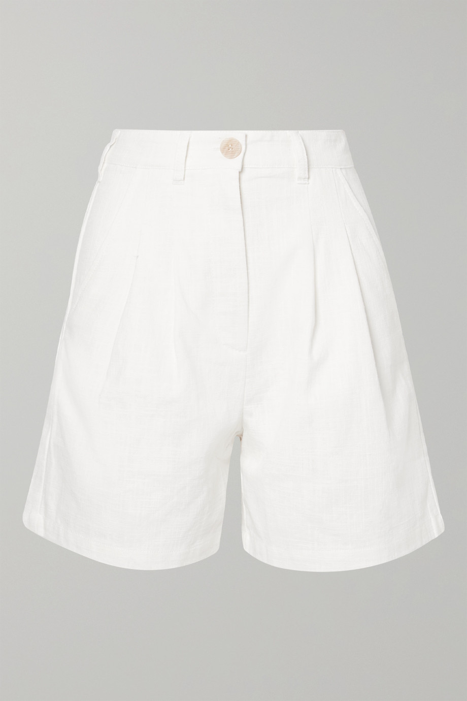 L.F.Markey Henry linen and cotton-blend shorts