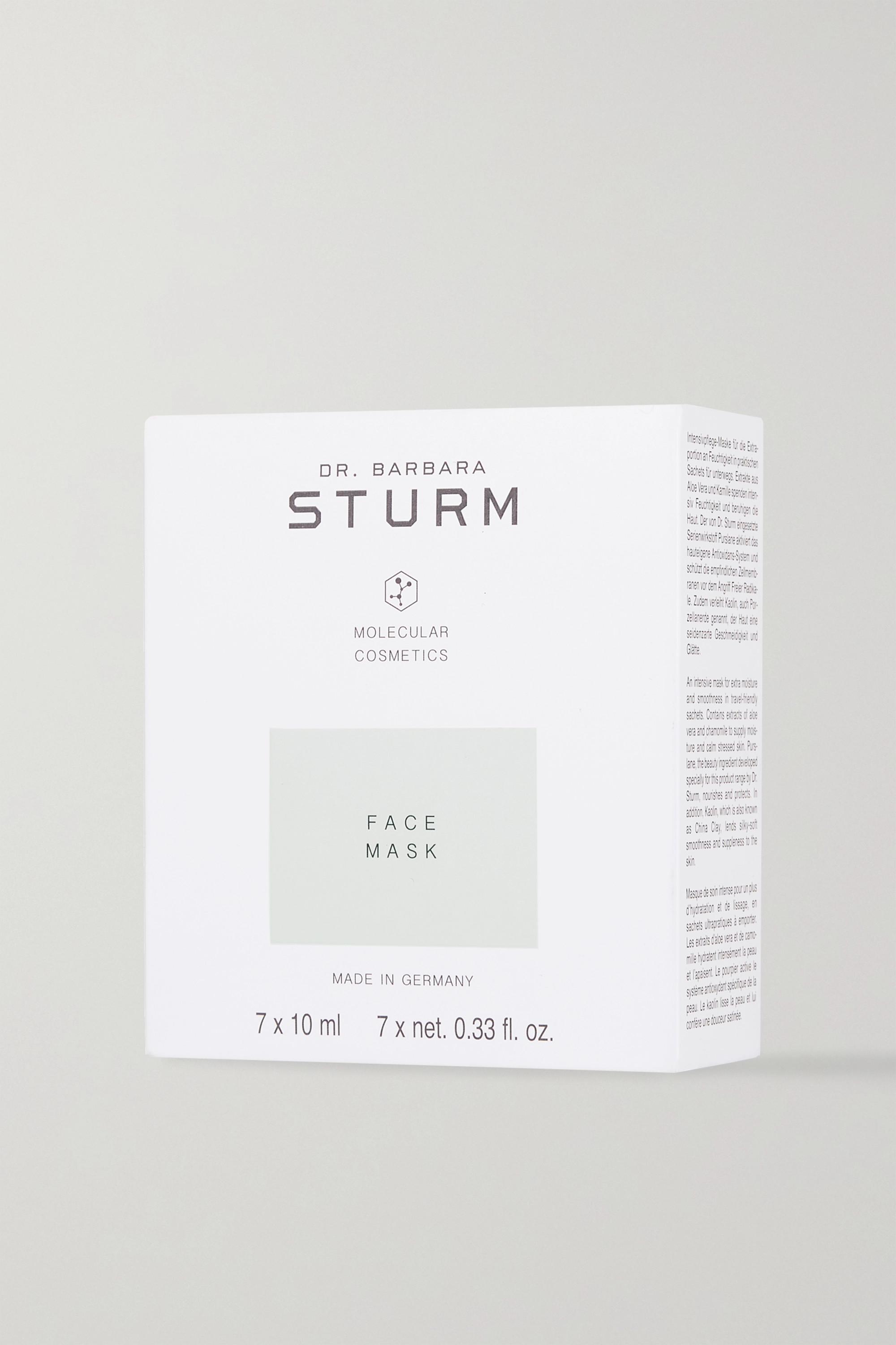 Dr. Barbara Sturm Deep Hydrating Face Mask, 7 x 10ml