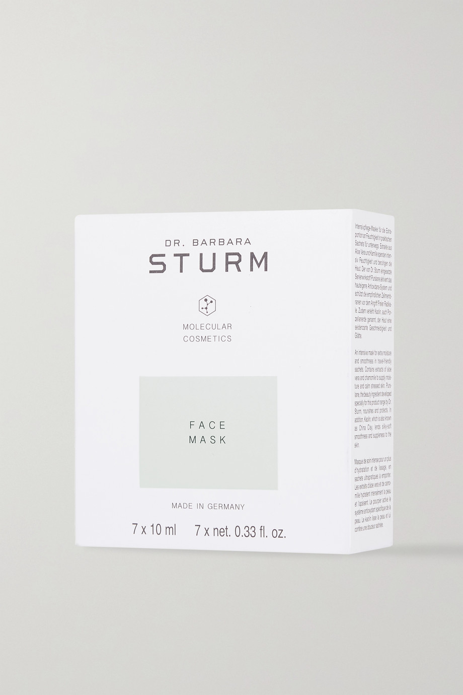 Dr. Barbara Sturm Deep Hydrating Face Mask, 7 x 10 ml – Tuchmaskem