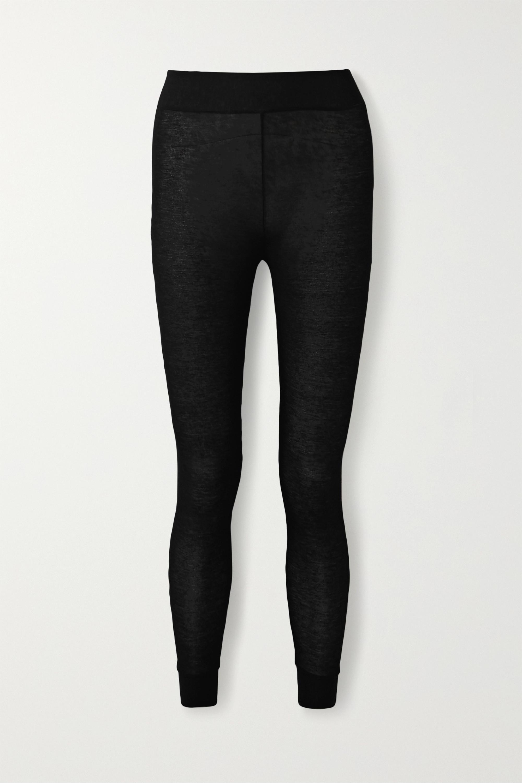 Commando Stretch-modal and cashmere-blend leggings