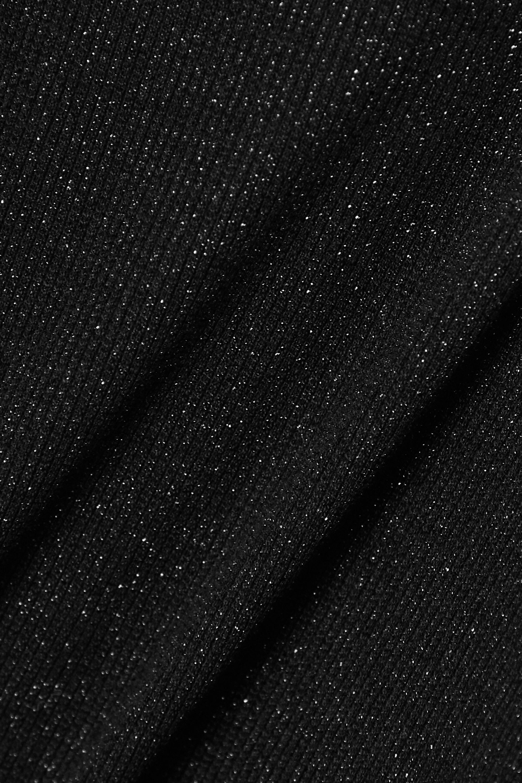 Commando Metallic stretch-jersey thong bodysuit