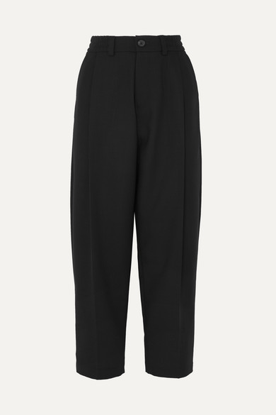 Mcq By Alexander Mcqueen Pants PLEATED WOOL STRAIGHT-LEG PANTS