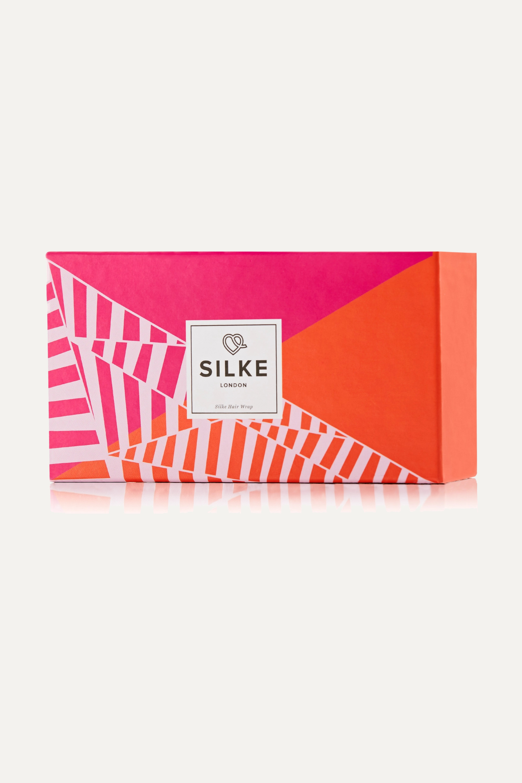 SILKE London The Poppy silk hair wrap