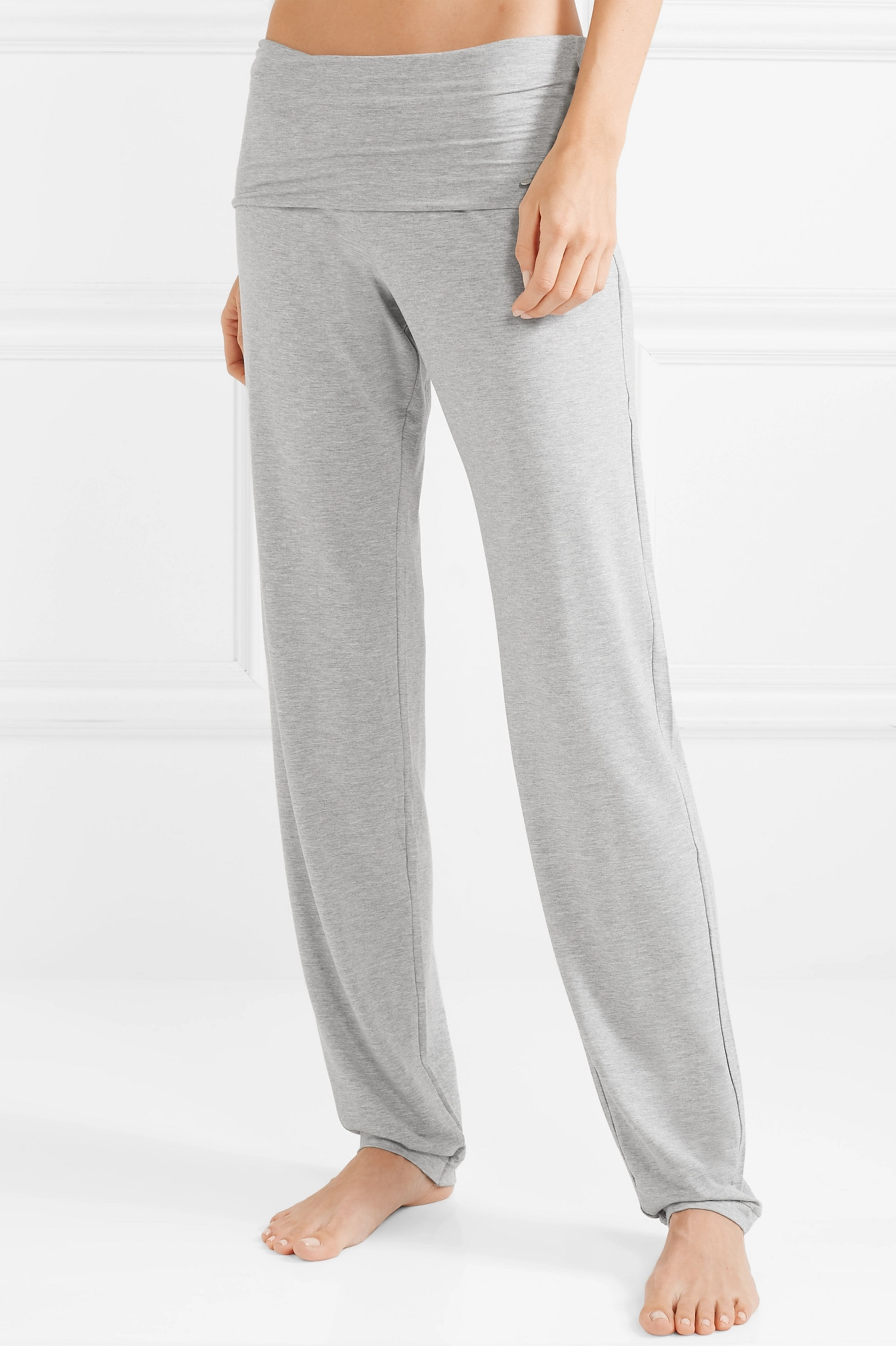 Hanro Yoga Lounge stretch-modal pants