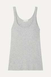 Raisa ribbed organic Pima cotton-jersey tank