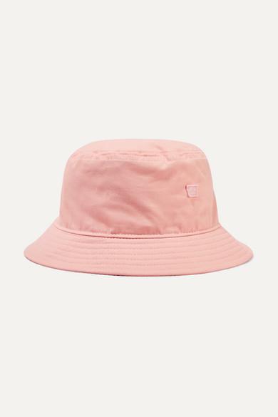 1e9a6254cc Buk Face appliquéd cotton-twill bucket hat
