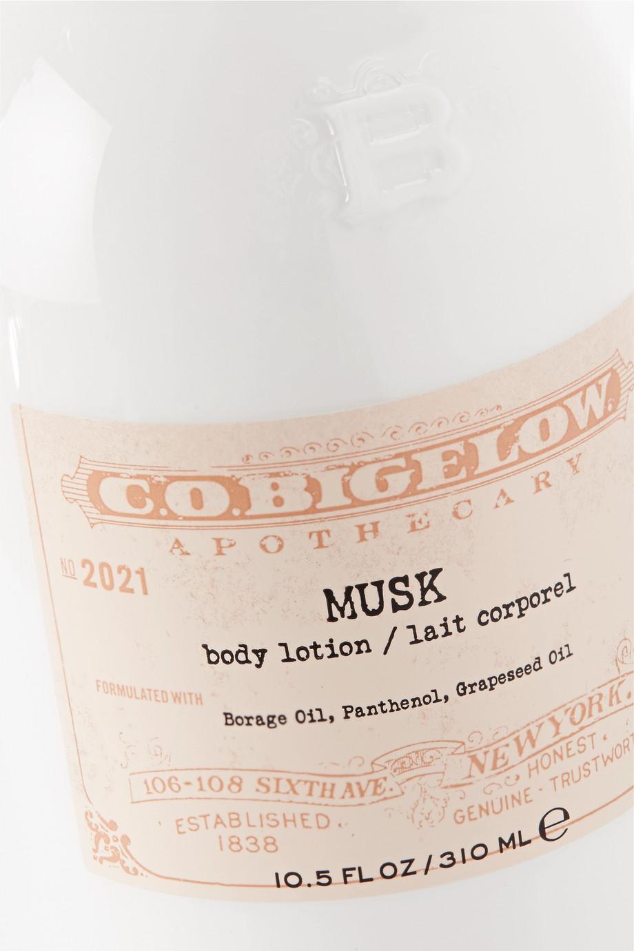 C.O. Bigelow Musk Body Lotion, 310ml