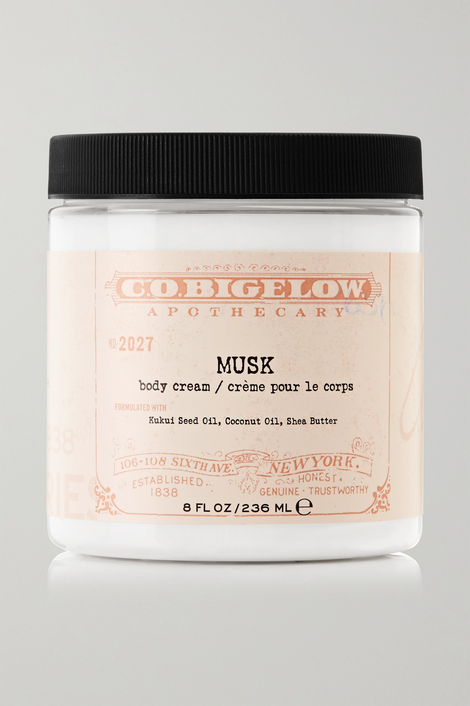 C.O. Bigelow Body Cream - Musk, 236ml