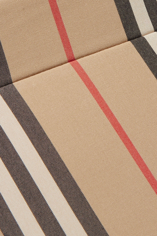 Burberry Striped cotton-canvas visor