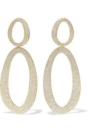 Boucles d'oreilles en or 18 carats et diamants Cherish