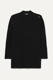 Marni Convertible ribbed wool sweater