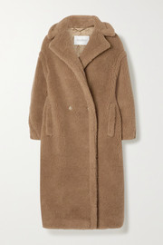 Teddy Icon camel hair and silk-blend coat