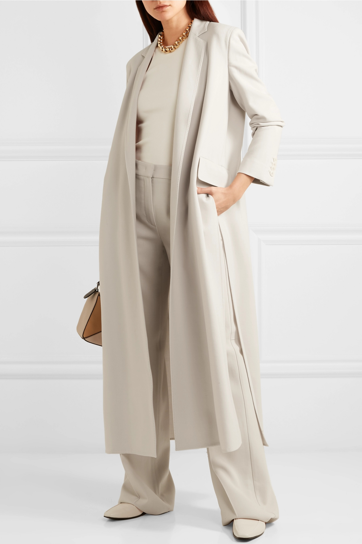 Max Mara Stretch-wool crepe coat