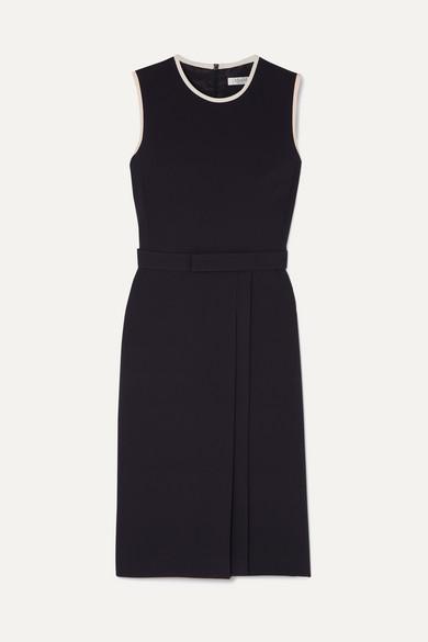 Max Mara Dresses Pleated crepe dress