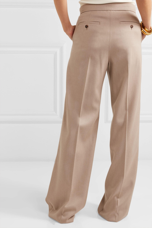 Max Mara Kenia wool-twill wide-leg pants