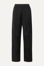 MM6 Maison Margiela Cotton-blend satin-jersey track pants