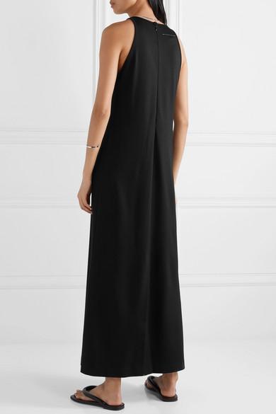 jersey-maxi-dress by mm6-maison-margiela