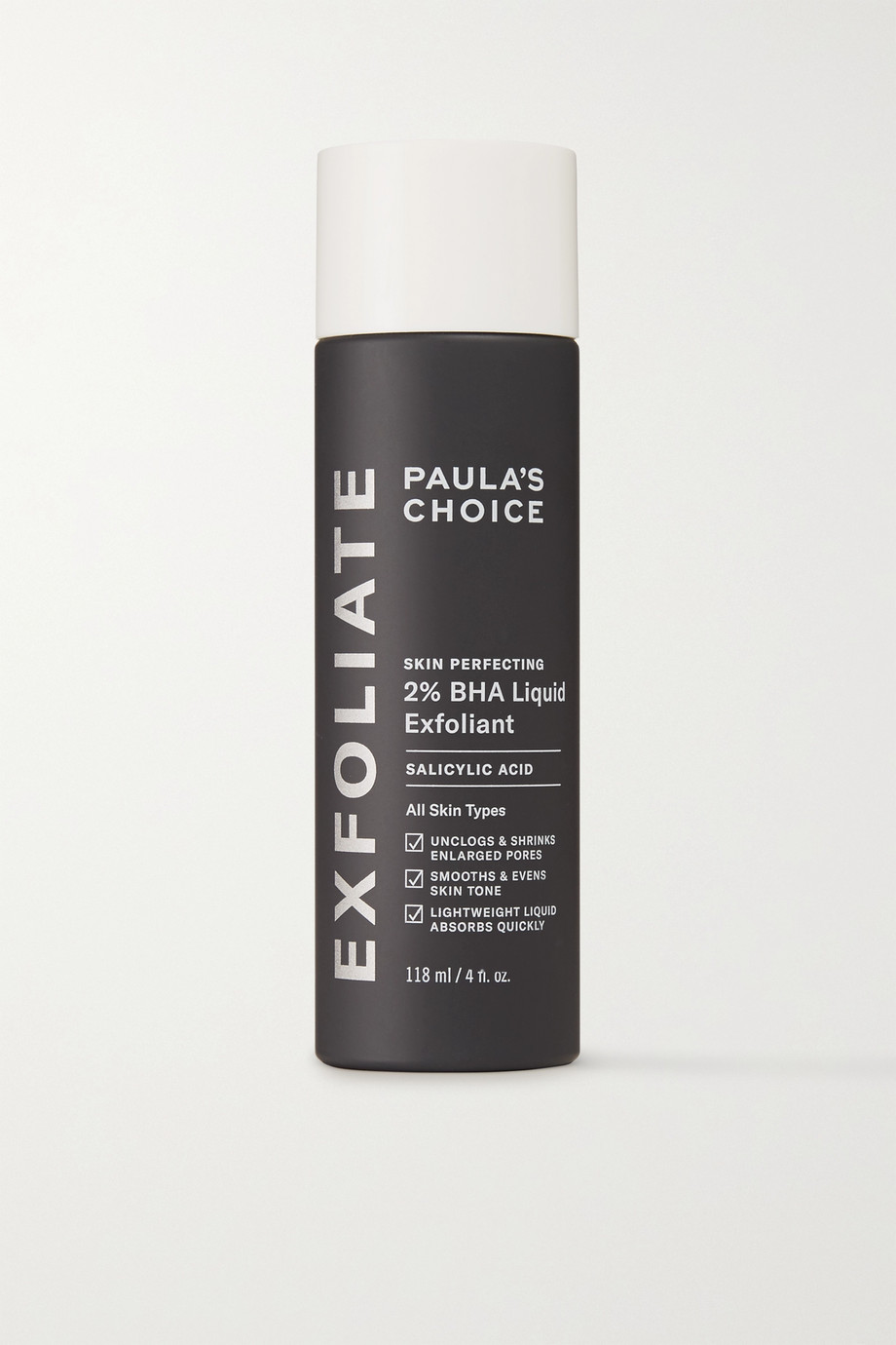 Paula's Choice Skin Perfecting 2% BHA Liquid Exfoliant, 118 ml – Flüssiges Gesichtspeeling