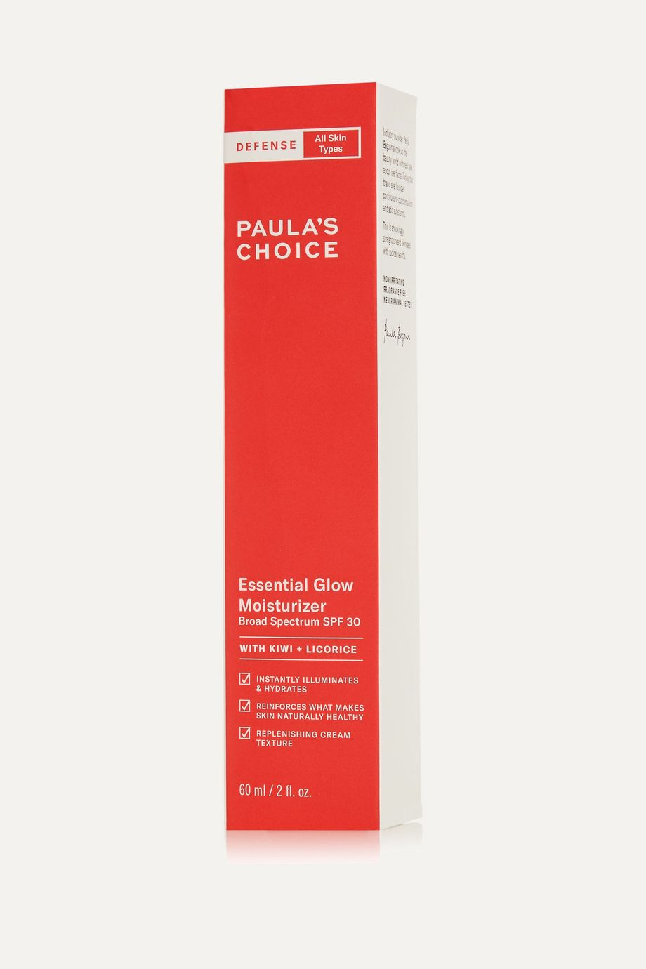 Paula's Choice Defense Essential Glow Moisturizer SPF30, 60ml