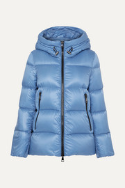 몽클레어 Moncler Hooded quilted shell down jacket