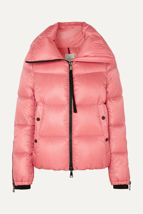 Pink Quilted shell down jacket | Moncler 3sgL3V
