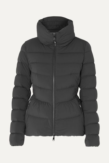 Charcoal Quilted shell down jacket | Moncler 1XMra8