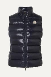 몽클레어 Moncler Quilted shell down vest