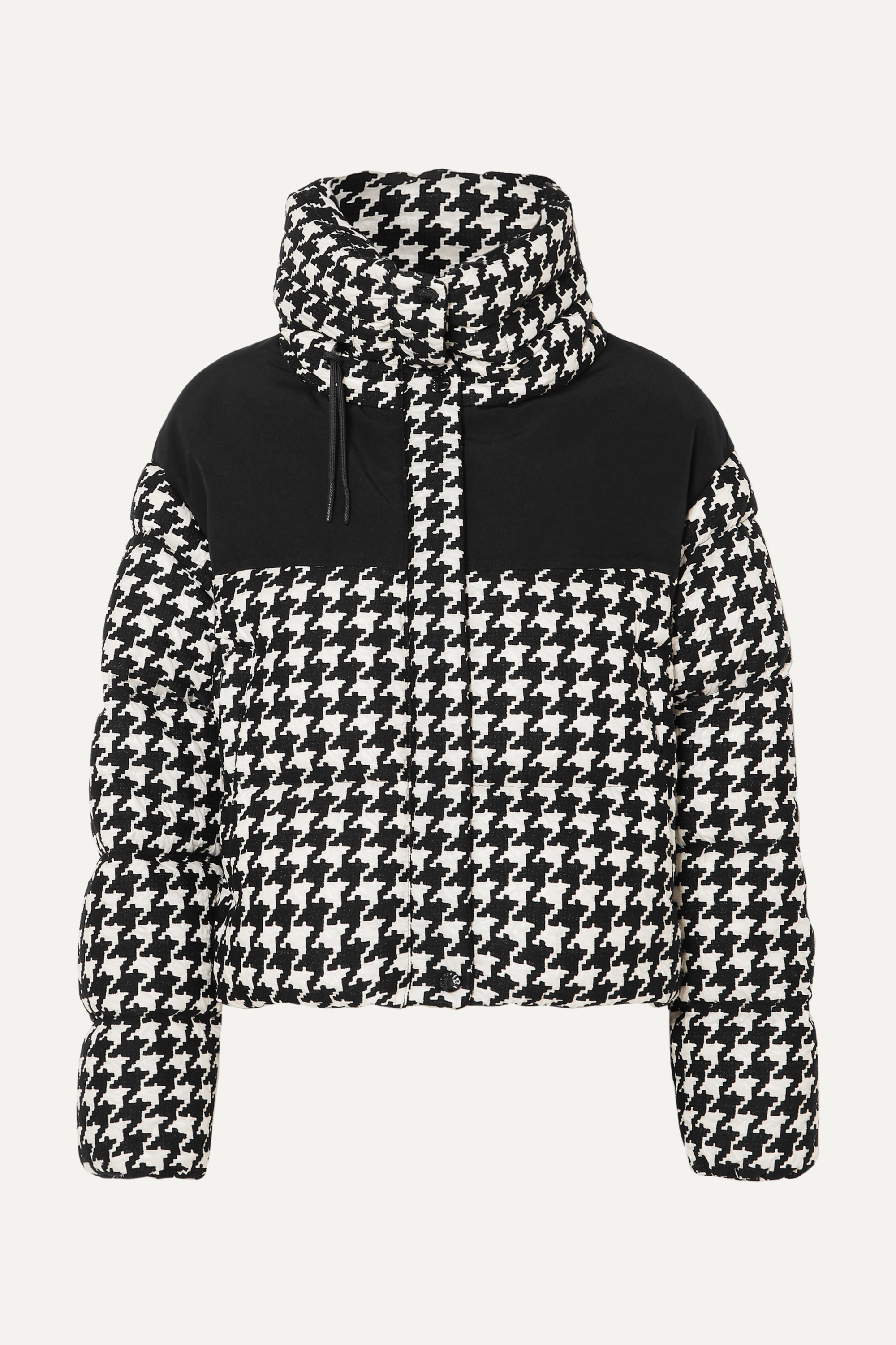 Moncler Embroidered quilted shell down jacket
