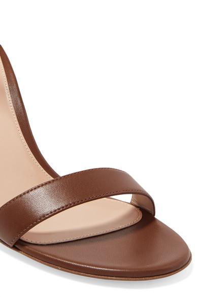 Gianvito Rossi Sandals Portofino 85 leather wedge sandals
