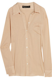 Elizabeth and James Malcolm cotton-twill shirt