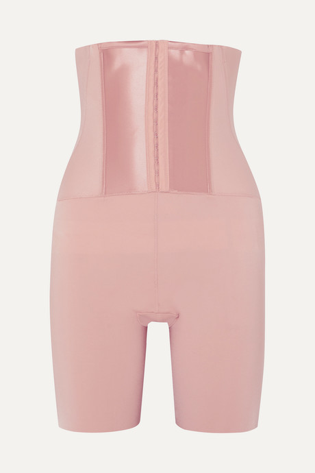 Antique rose Under Sculpture high-rise control shorts | Spanx a28oyg