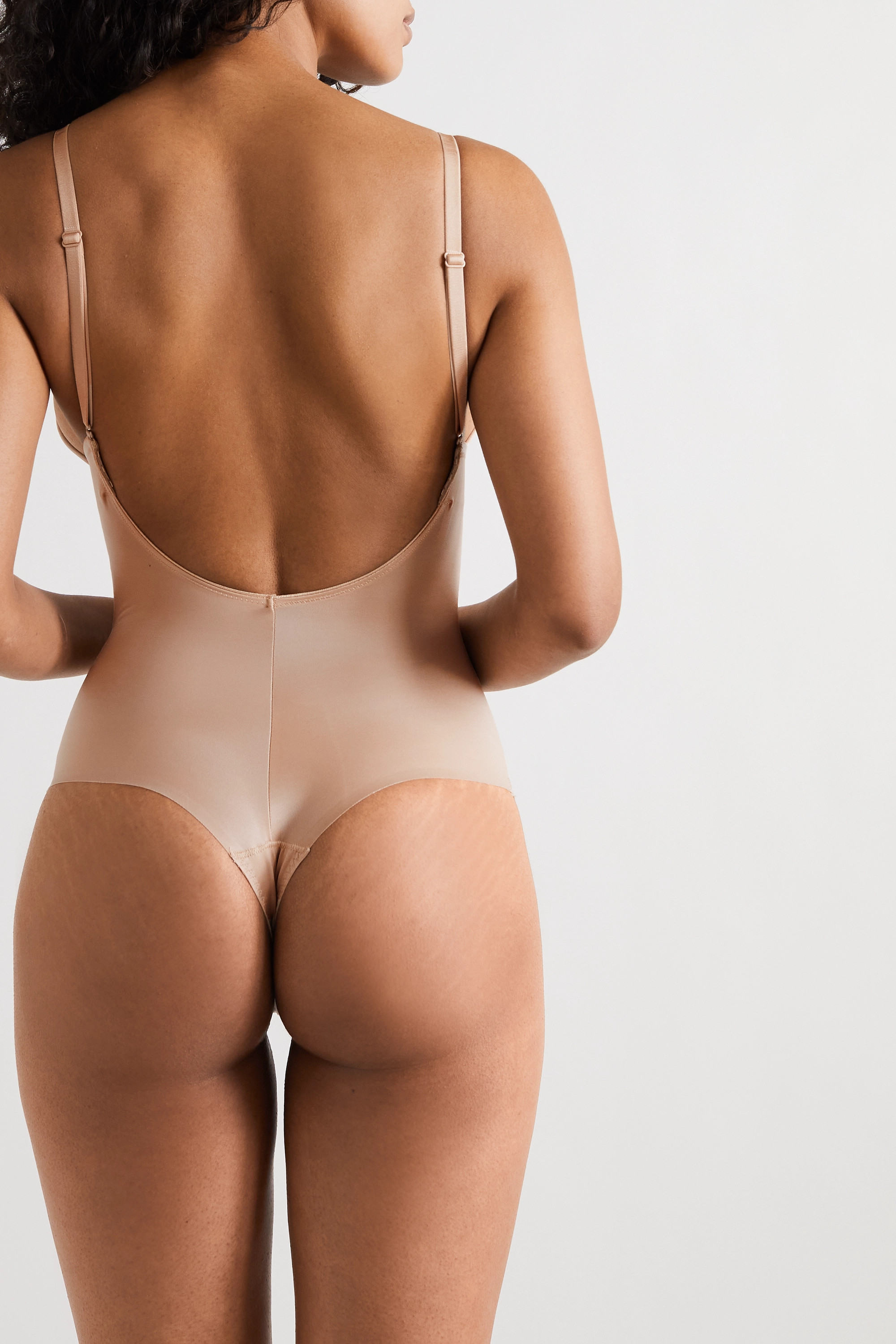 Spanx Suit Your Fancy stretch-jersey thong bodysuit