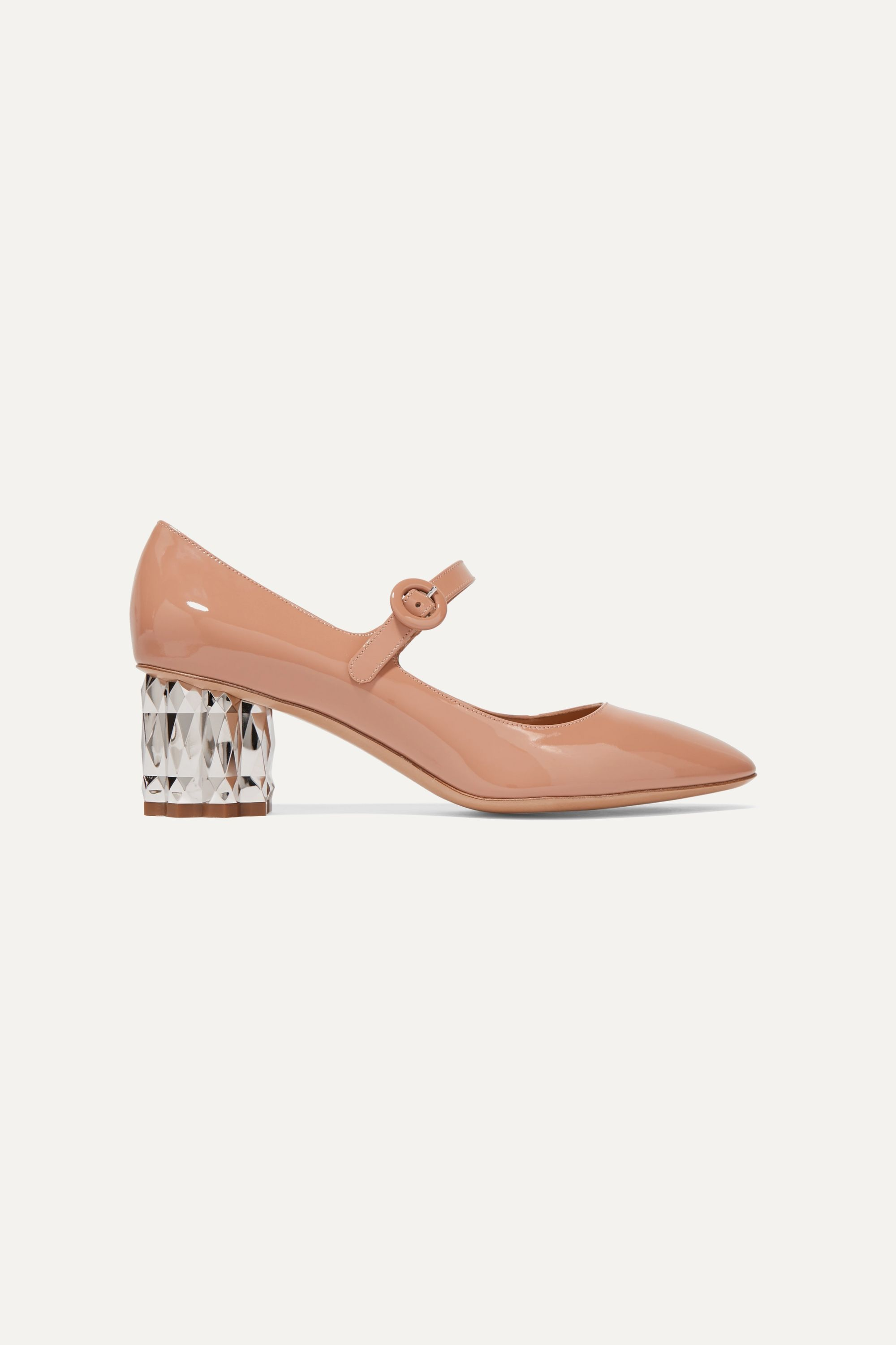 Ortensia patent-leather Mary Jane pumps