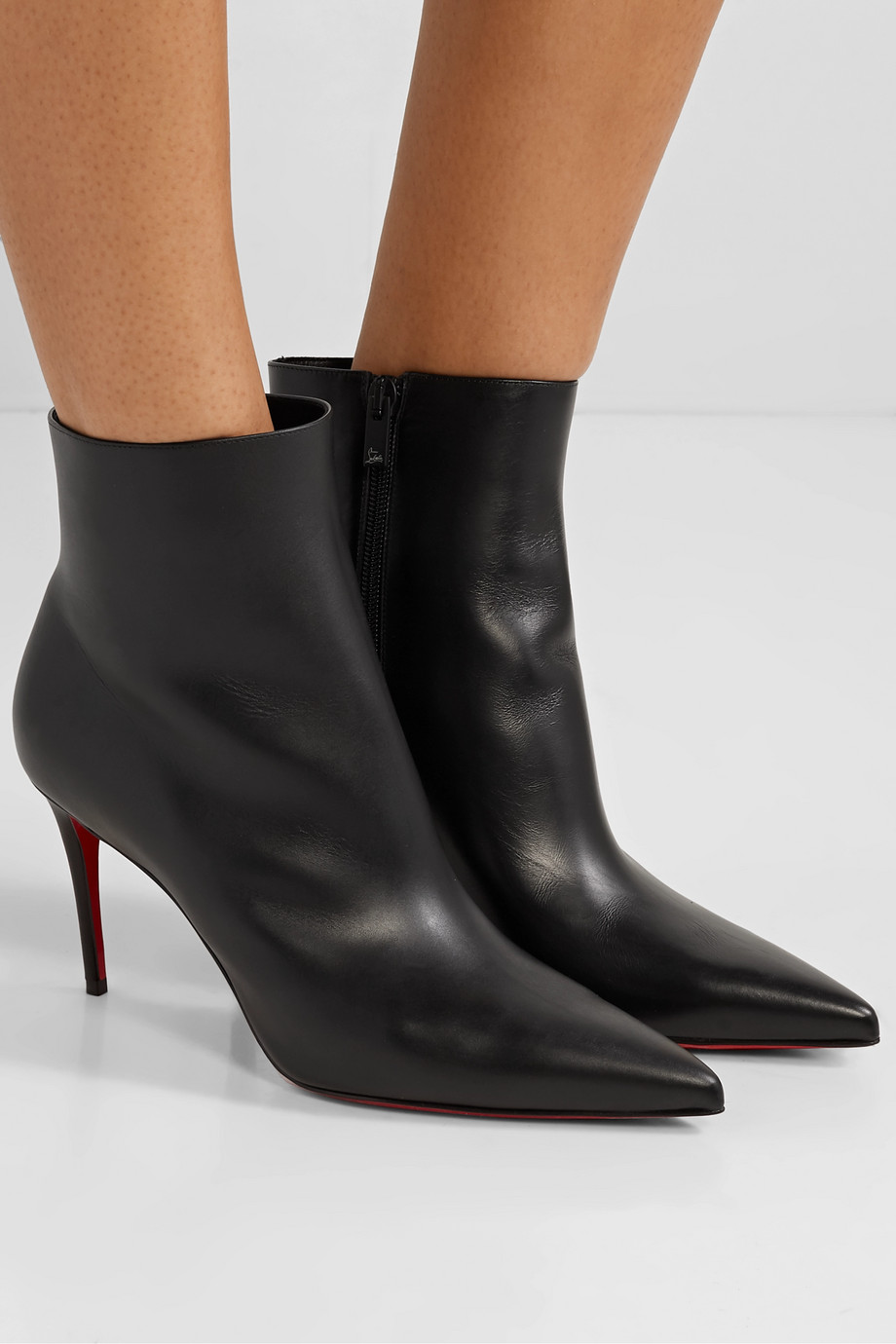 Christian Louboutin Bottines en cuir So Kate 85