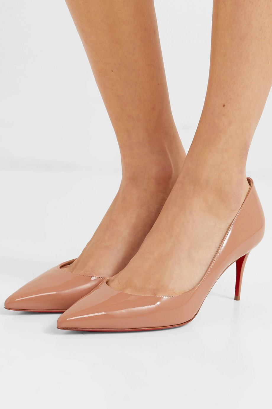 Christian Louboutin Iriza 70 patent-leather pumps