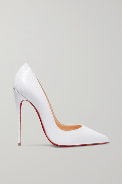 brand new 514ee aad20 So Kate 120 lizard-effect leather pumps