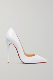 Christian Louboutin So Kate 120 lizard-effect leather pumps