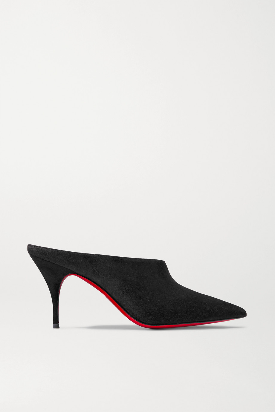 Christian Louboutin Quart 80 suede mules