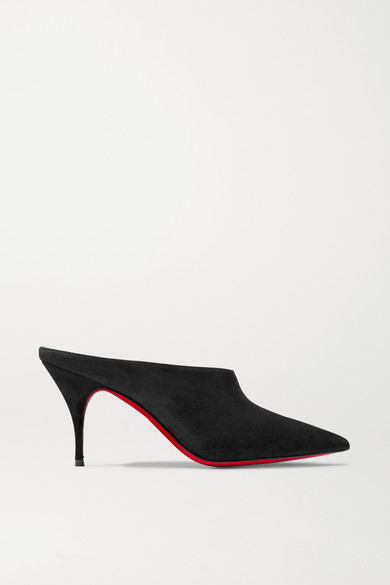Quart 80 Suede Mules by Christian Louboutin