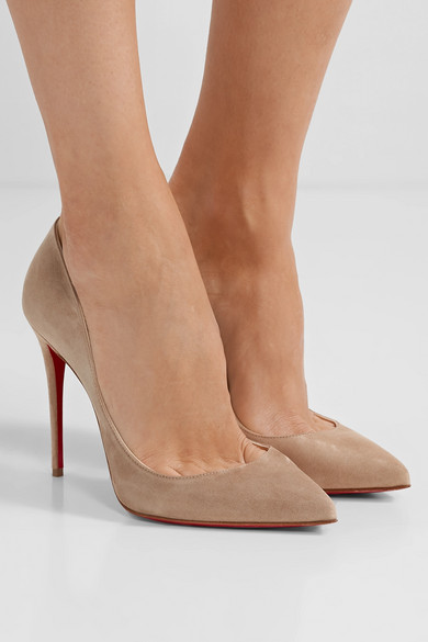 first rate e704b e42b9 Christian Louboutin | Pigalle Follies 100 suede pumps | NET ...