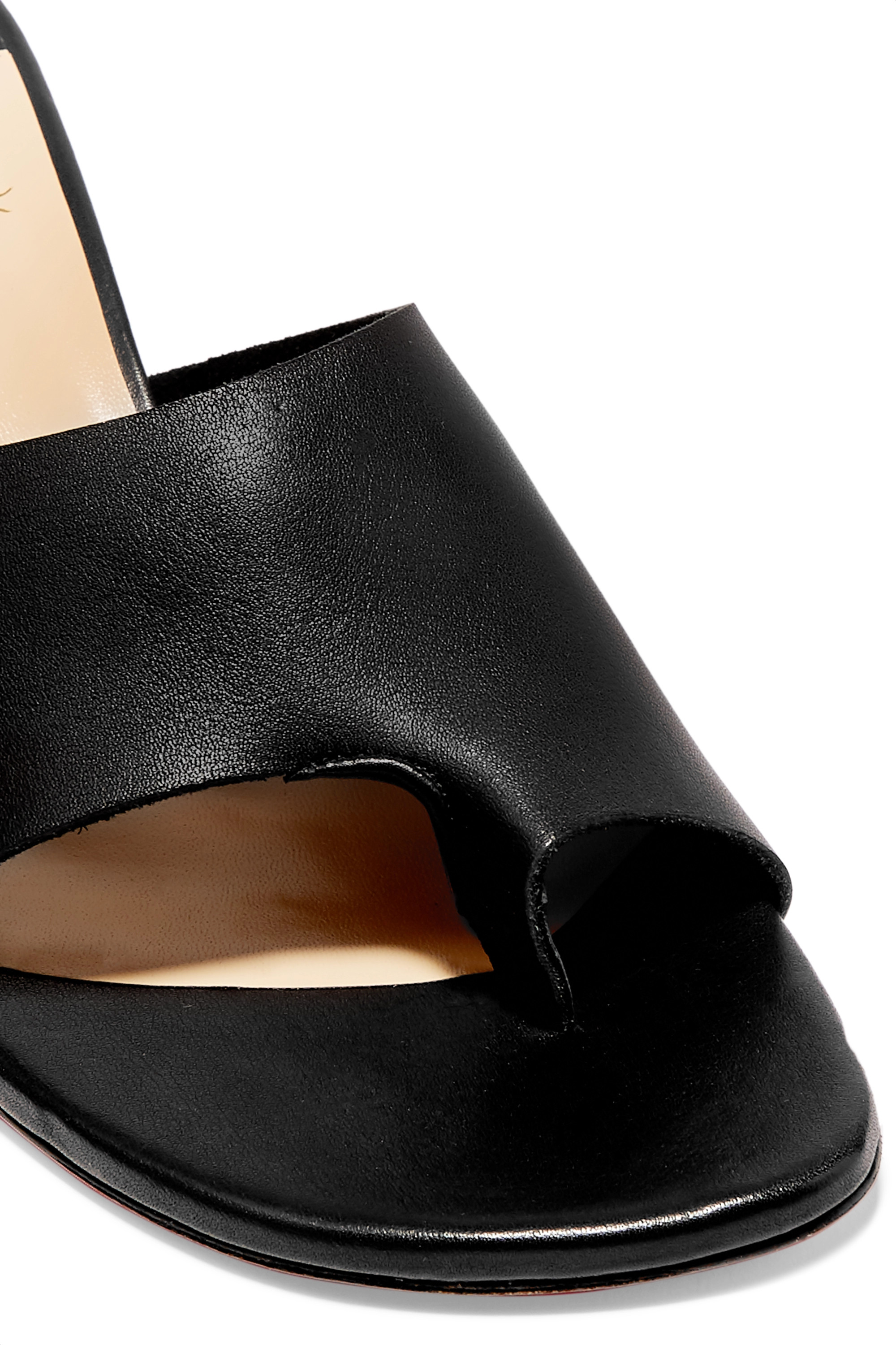 Christian Louboutin Viberta 55 leather mules