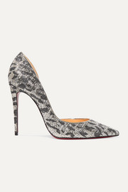 Iriza 100 metallic jacquard pumps