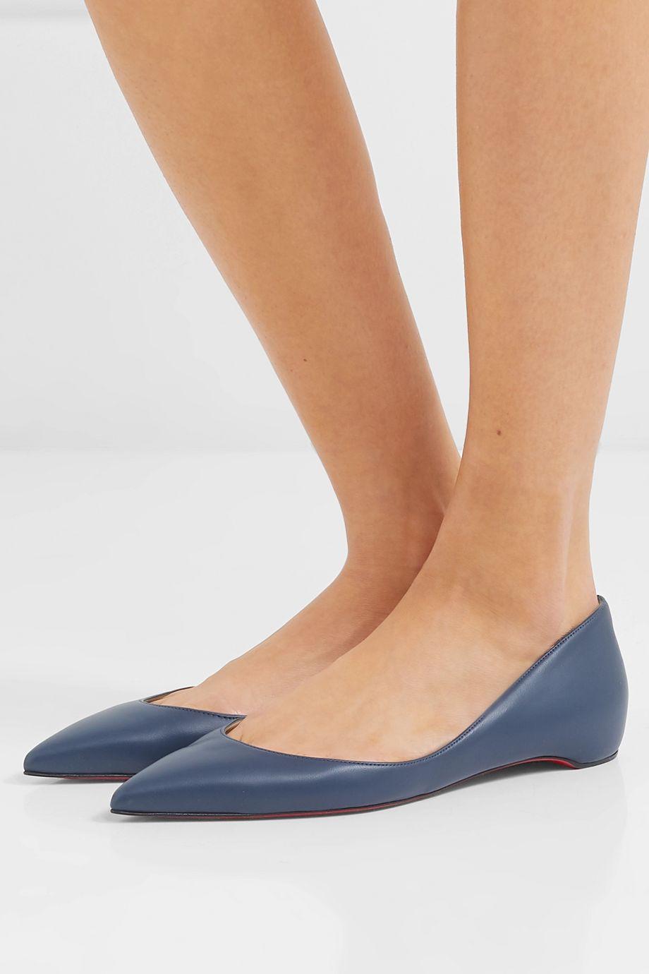 Christian Louboutin Iriza leather point-toe flats